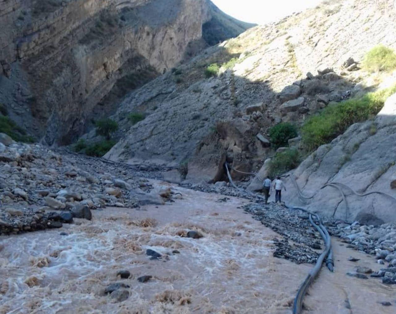 سیل مسیر ارتباطی چند روستا در بخش گرگانرود تالش راتخریب کرد