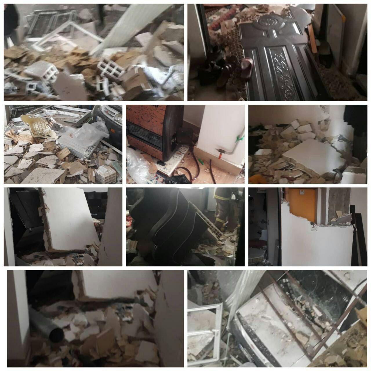 گاز شهری موجب انفجاریک واحد آپارتمان در صومعه سرا شد.
